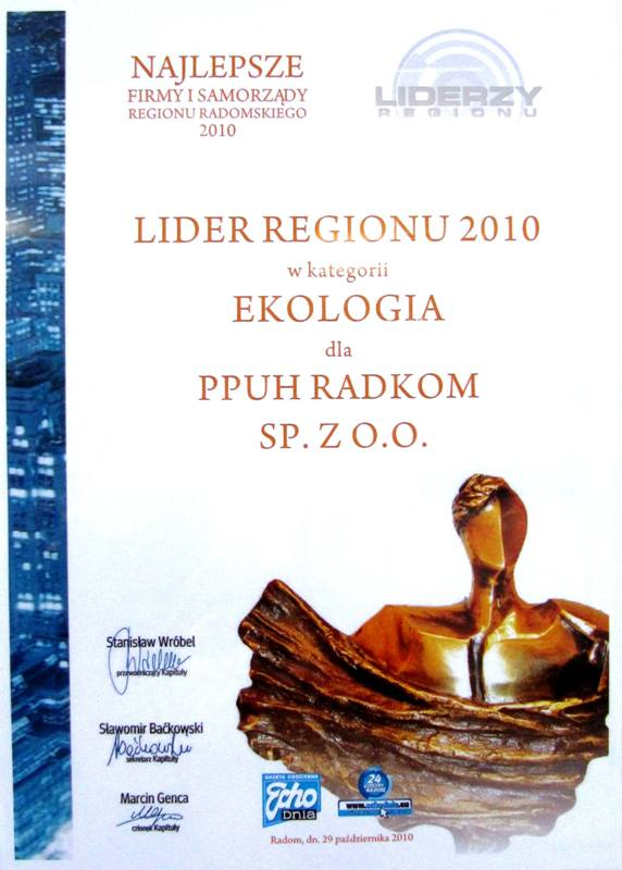 2010 lider regionu small